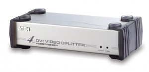 Splitter DVI + audio 4 porty ATEN